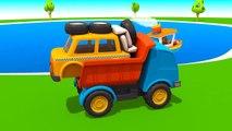Meraklı kamyon Leo ve taksi - Eğitici çizgi film - Türkçe izle