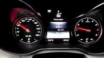 2015 Mercedes C Class W205 Urban City Traffic Fuel Consumption MPG Test AVG Speed 19km/h 1
