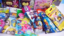 Surprise Blind Bag Marathon EP8 - Part 1 - Tokidoki Unicorno, Sailor Moon, TMNT, Spider-ma