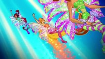 Winx Club: NEW! Full Official Sirenix Transformation 2D + Daphne Sirenix, Full HD