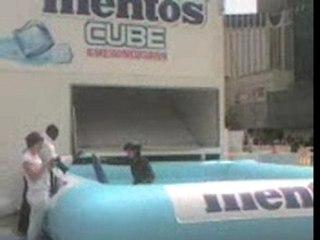 Opé Mentos Cube La Defense