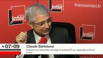 Régionales, FN, sécurité: Claude Bartolone répond à Léa Salamé