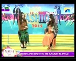 Nadia khan Show on Geo - 1st December 2015 - Part 2