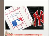 New York Yankees NY Baseball Shoulder Bag Red