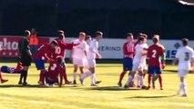 Luca Zidane pète un plomb et se fait expulser ! Luca Zidane est comme son père, il adore donner des coups !!