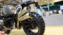 BMW NineT Scrambler 2016 Salon de Moto Paris