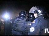 PROTESTA E VETEVENDOSJE LEVIZJA E ALBIN KURTIT KUNDER MARREVESHJES SE FUNDIT LAJM