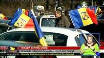 Paradă pentru Unire. 100 de maşini au plecat de la Arcul de Triumf din Bucureşti spre Ploieşti. A fost modul lor inedit, români de pe o parte și alta a Prutului (basarabeni), să sărbătorească Marea Unire din 1918