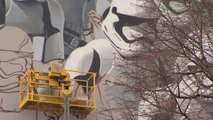 Giant Stormtroopers March on Moscow in Anticipation of Newest Star Wars
