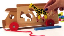 Kid's BRIO Toys - ZOO TRUCK JIGSAW - Learn Wild Animals PUZZLE! Learn to Count Games for Children , hd online free Full 2016