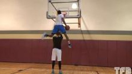 Check out this incredible dunk!