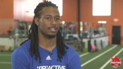 Trae Waynes: Advice for Younger Self
