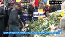 Simt şi trăiesc româneşte! Un marș al ReUnirii este organizat în Chișinău pentru a marca Ziua Națională a României. Manifestanții au declarat că își doresc unirea dintre cele două maluri ale Prutului.
