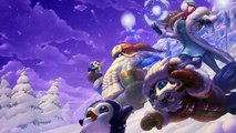 Solstice d'hiver Noël 2015 Login Theme - League of Legends