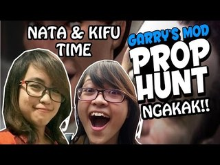 [NATA & KIFU TIME] I'M SUCH A GOOD LIAR!! - PROPHUNT GARRY'S MOD - NGAKAK
