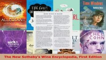Download  The New Sothebys Wine Encyclopedia First Edition PDF Online