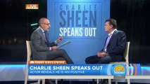 Charlie Sheen Confirms HIV Positive Status & Talks Betrayal & Extortion On Today Show