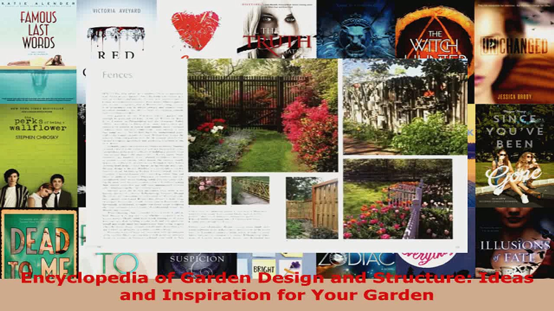 Download  Encyclopedia of Garden Design and Structure Ideas and Inspiration for Your Garden EBooks O
