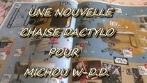 LES W-D.D. MICHOU NEWS - 30 NOVEMBRE 2015 - PAU - UNE NOUVELLE CHAISE DACTYLO POUR MICHOU W-D.D..