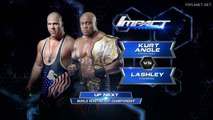 Kurt Angle vs Bobby Lashley, TNA Impact Wrestling 20.03.2015
