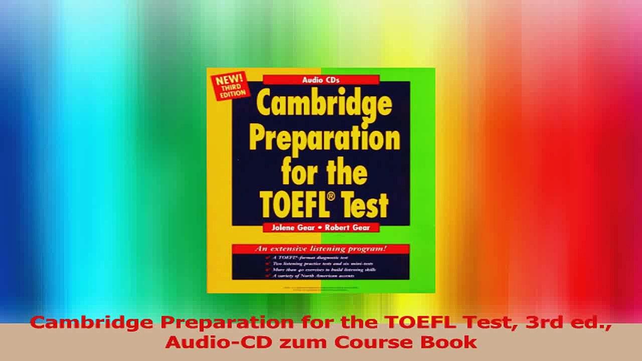 cambridge toefl preparation cd free download
