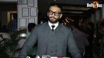 Bajirao Mastani Star Ranveer Singh Reaction On Ranbir Kapoor Deepika Padukone Hot Chemistry