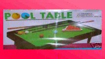 Best buy Mini Table Games  One Complete Mini Tabletop Pool Table Set