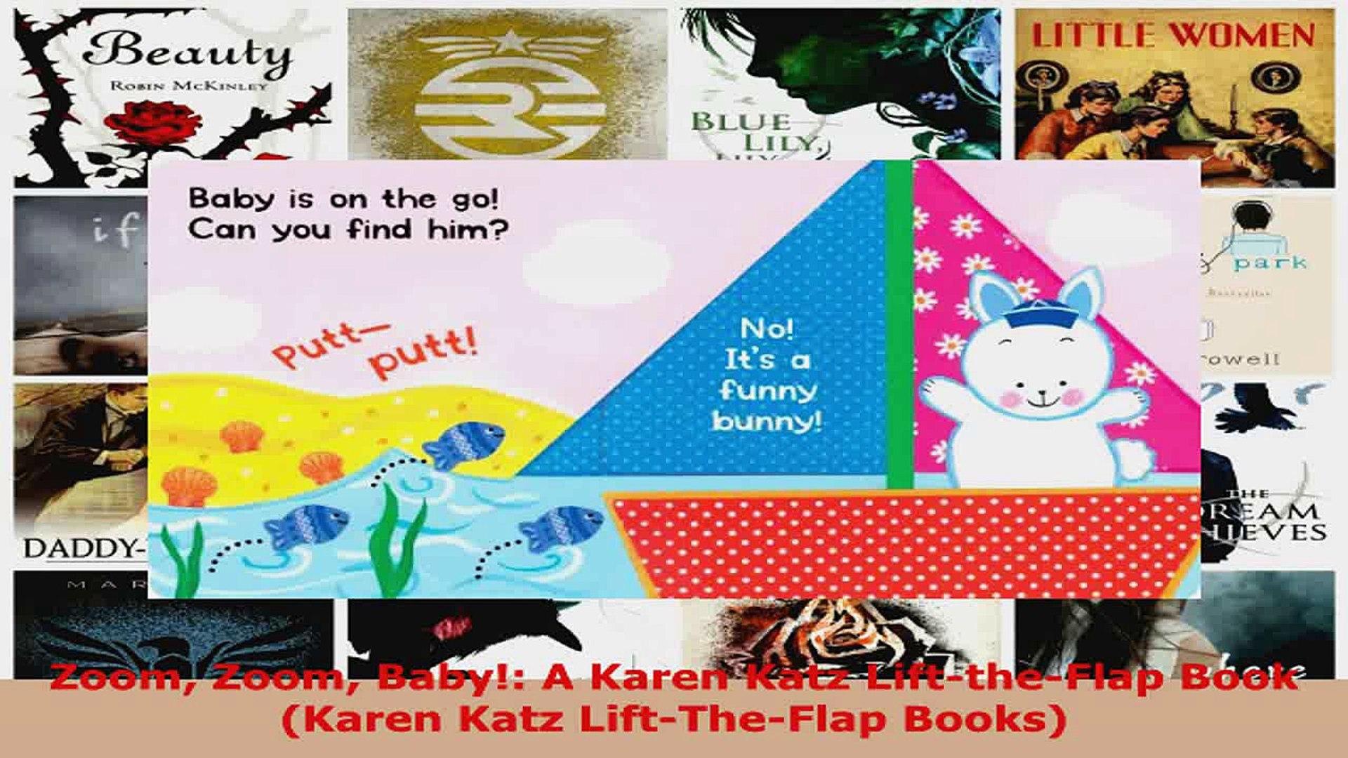 Read  Zoom Zoom Baby A Karen Katz LifttheFlap Book Karen Katz LiftTheFlap Books PDF Free