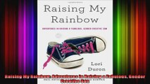 Raising My Rainbow Adventures in Raising a Fabulous Gender Creative Son