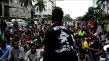 Indonesian police detain demonstrators at pro-Papua demo