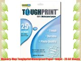 Memory-Map Toughprint Waterproof Paper - Inkjet - 25 A4 Sheets