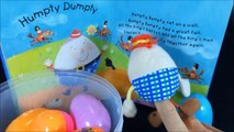comptine anglais enfants humpty dumpty Sat On A Wall Nursery Rhymes with toys and surprise egg humpty dumpty Sat On A Wall |  Nursery Rhymes with toys and surprise egg