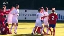 Le coup de tête de Luca Zidane qui rappelle celui de son père
