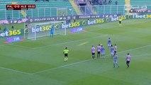 Palermo-Alessandria 0-1 gol Loviso (02-12-2015) Coppa Italia 2015-2016