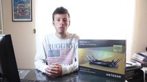 Unboxing NETGEAR Nighthawk X6 R8000 - Router Wi-Fi AC Tri-Band