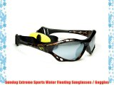 Sundog Shockwave Extreme Sports Water Floating Sunglasses (Brown Demi) Ideal for Watersports