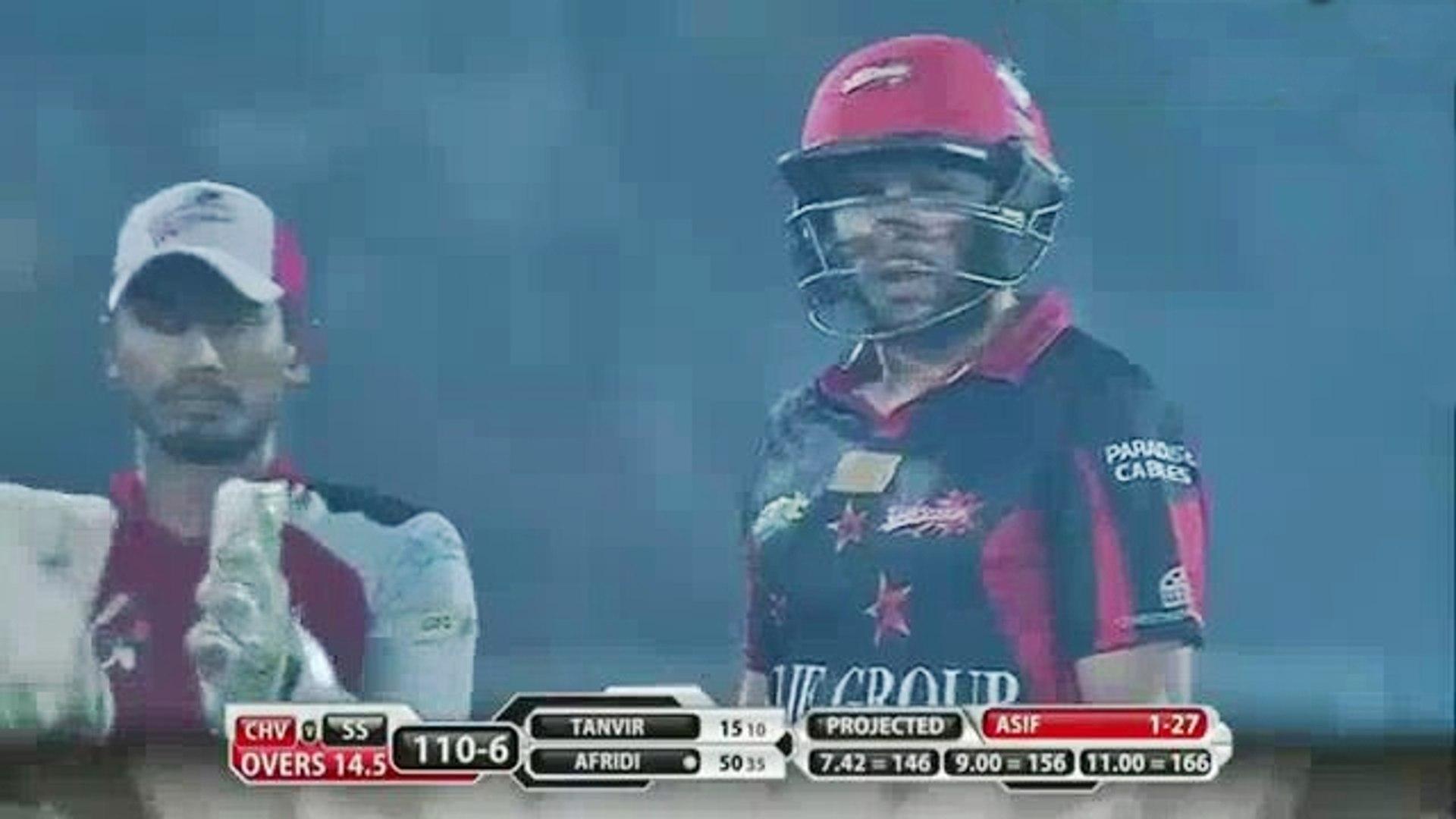 Shahid Afridi 62 Runs only 41 Balls Full Highlights BPL T20   Chittagong Vikings vs Sylhet Super Sta