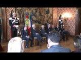 Roma - Il Presidente Mattarella incontra la presidenza nazionale delle ACLI (02.12.15)