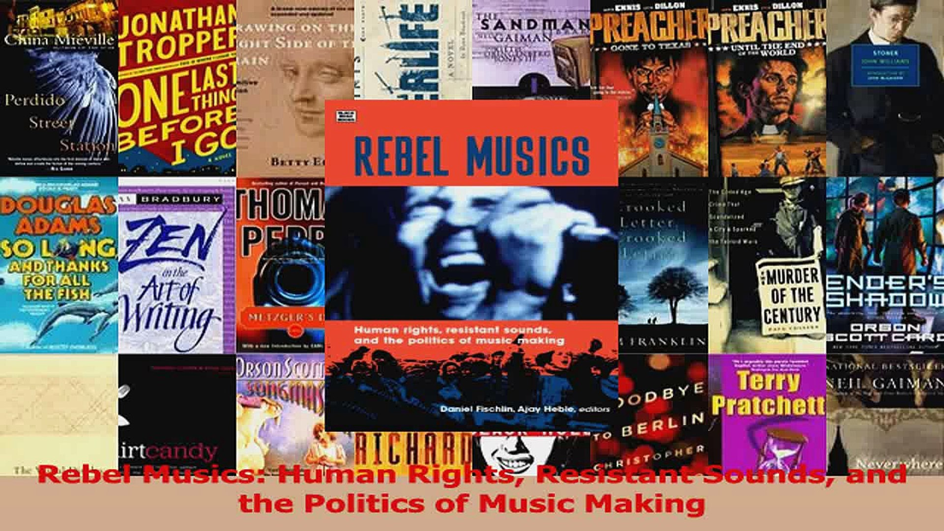 PDF Download  Rebel Musics Human Rights Resistant Sounds and the Politics of Music Making PDF Online