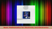 EBOOK] DOWNLOAD Basic Mathematics for Electricity and