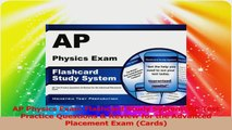 AP Physics Exam Flashcard Study System AP Test Practice Questions  Review for the PDF