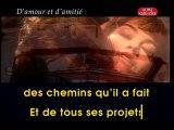 KARAOKE CELINE DION - D'amour et d'amitié