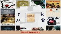 PDF Download  Choral Repertoire Read Full Ebook