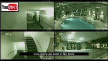 Scary ghost caught on tape by security camera  Real ghost on tape  Scary ghost videos 2013