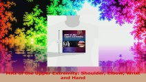 MRI of the Upper Extremity Shoulder Elbow Wrist and Hand PDF