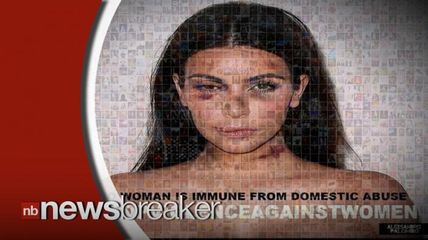 "SHOCK: ""Beaten"" Hollywood Beauties Featured in Domestic Abuse Campaign"