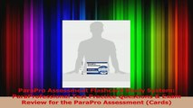 ParaPro Assessment Flashcard Study System ParaProfessional Test Practice Questions  Exam PDF