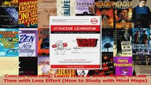 Concise Learning Learn More  Score Higher in Less Time with Less Effort How to Study Download