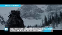 No, Internet, Leonardo DiCaprio Was Not Raped By A Bear In The Revenant