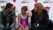 2016 Skate Canada Challenge: Rink A Jr Women Short Program Group 6